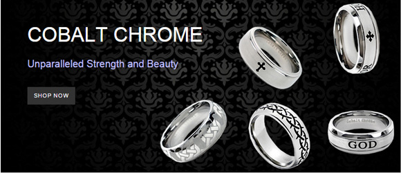 Cobalt Chrome Unparalleled Strength and Beauty. Shop the Cobalt Chrome Rings