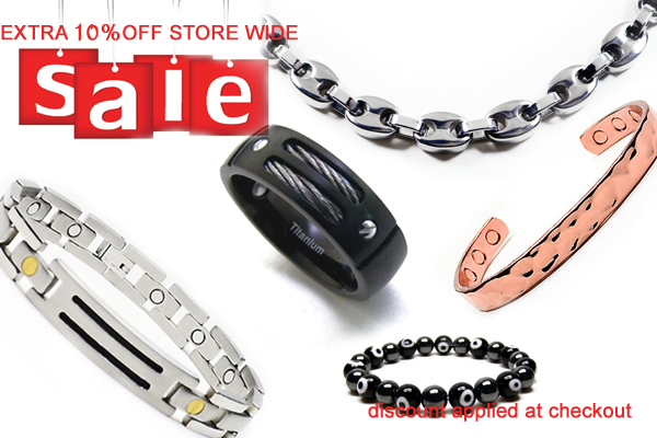 Extra 10% OFF, Titanium GUCII Chain, Titanium Cable Bracelet, Titanium Ring, Copper Bangle.